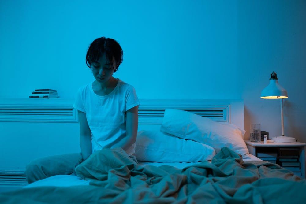 žena nespavost