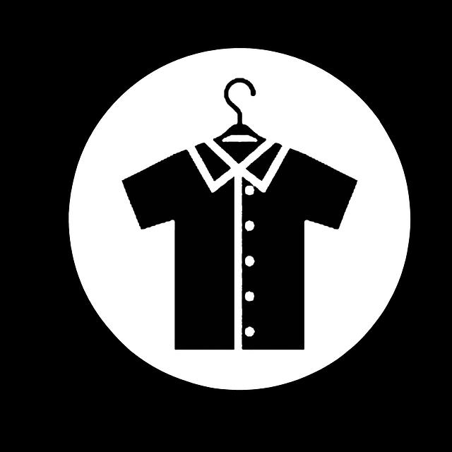košile na ramínku