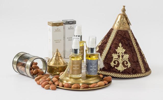 arganové oleje