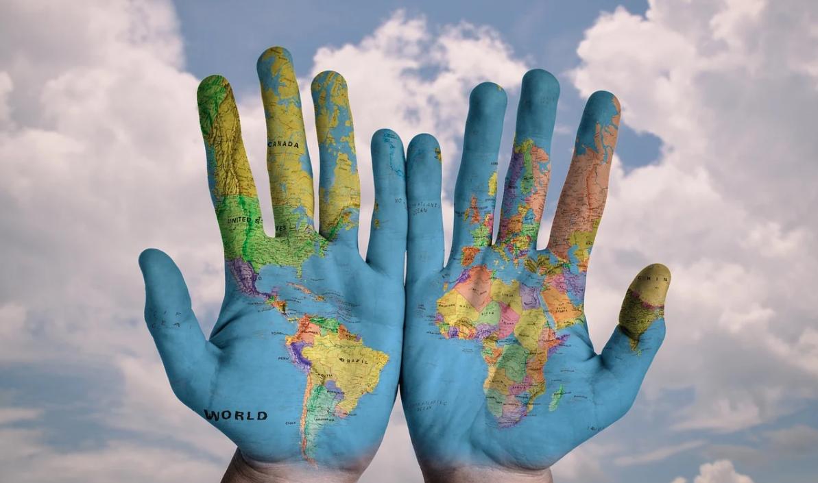 ruce a svět